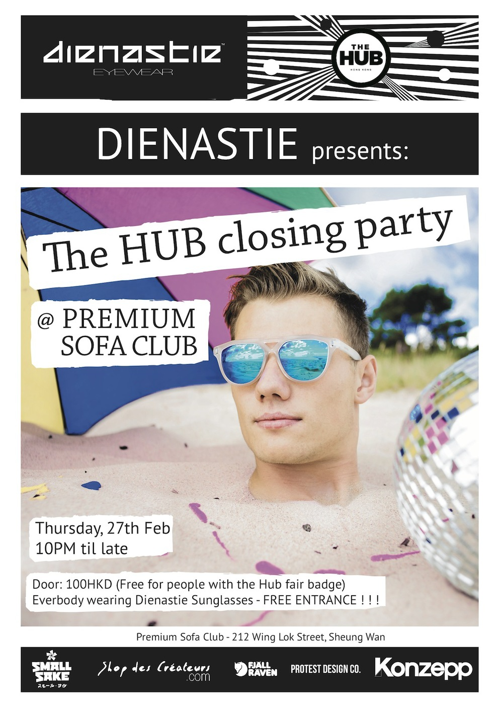The Hub Closing Party - Poster.jpg