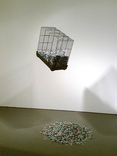 Model of the Universe No.3 (Exponential Agrophrenia), 2007