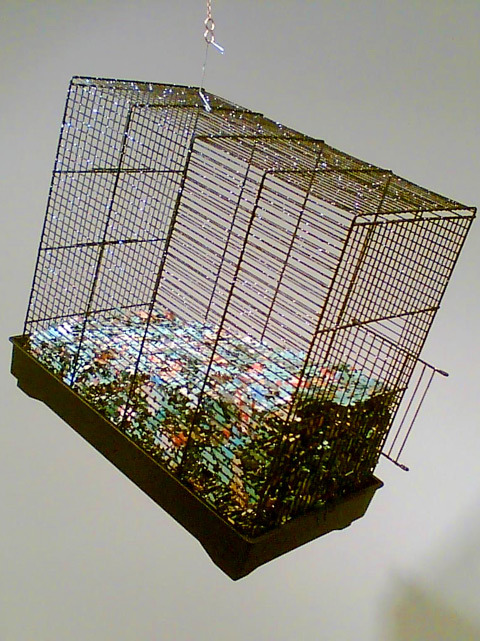 Model of the Universe No.3 (Exponential Agrophrenia), 2007 (detail)