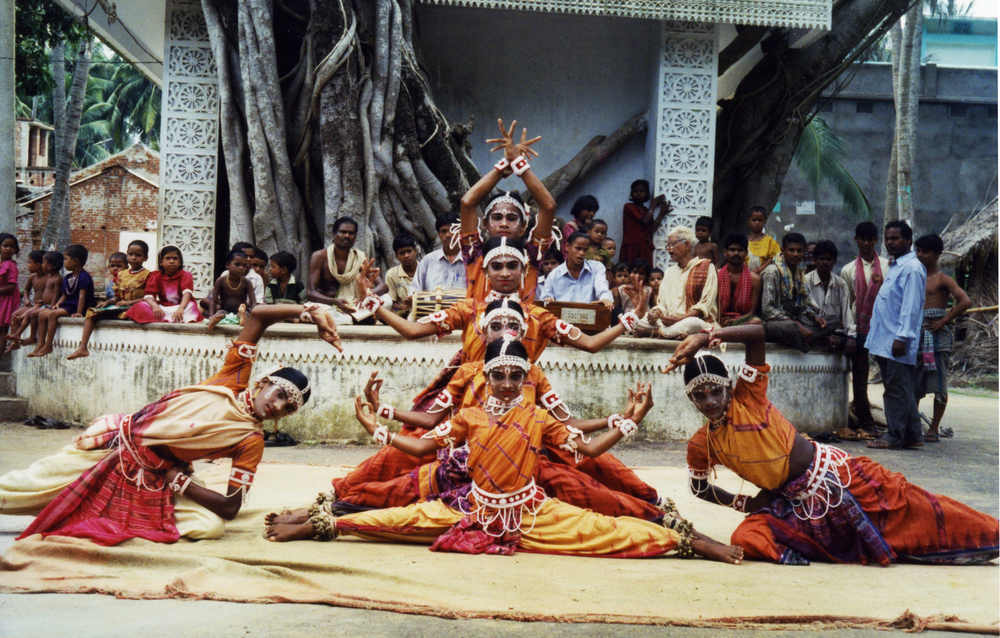 Gotipua dancers of Raghurajut Heritage Village