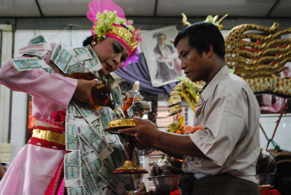 Yangon, 2010 © Guillaume Le Colombier