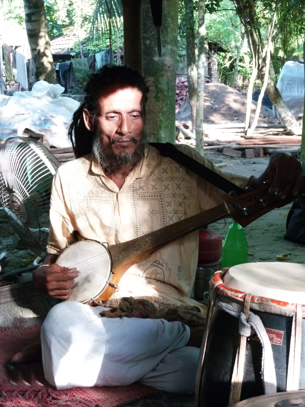 Aarman Fakir at his ashram, Sept. 2010 © Edith