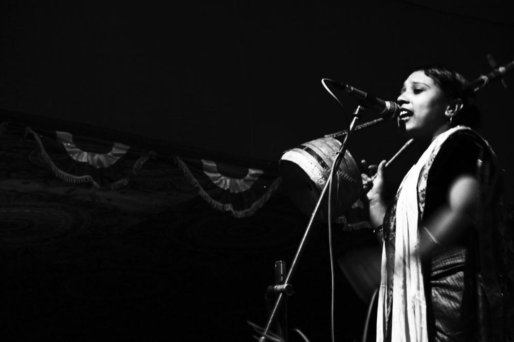 Mallika Akhar, Datta Baba Mela, Dec. 14, 2013 © Edith Nicol