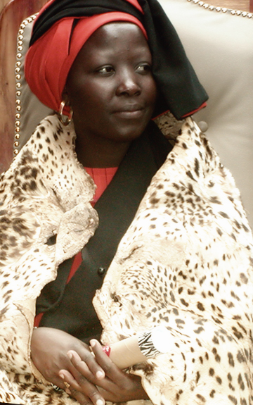 Makobo Modjadji VI, the last queen (reign: 2003-2005)