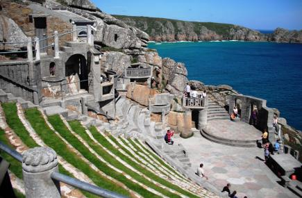 The Minack Theatre, Porthcurno.