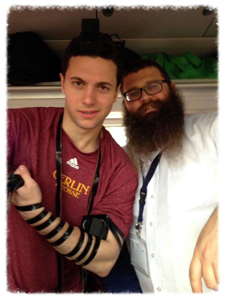 Eli Clark Davis OC'13 & Rabbi Shlomo