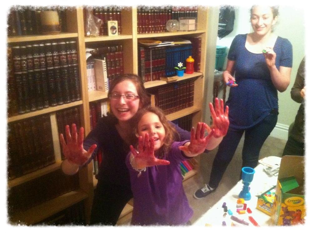 Kidergarten Night During Passover