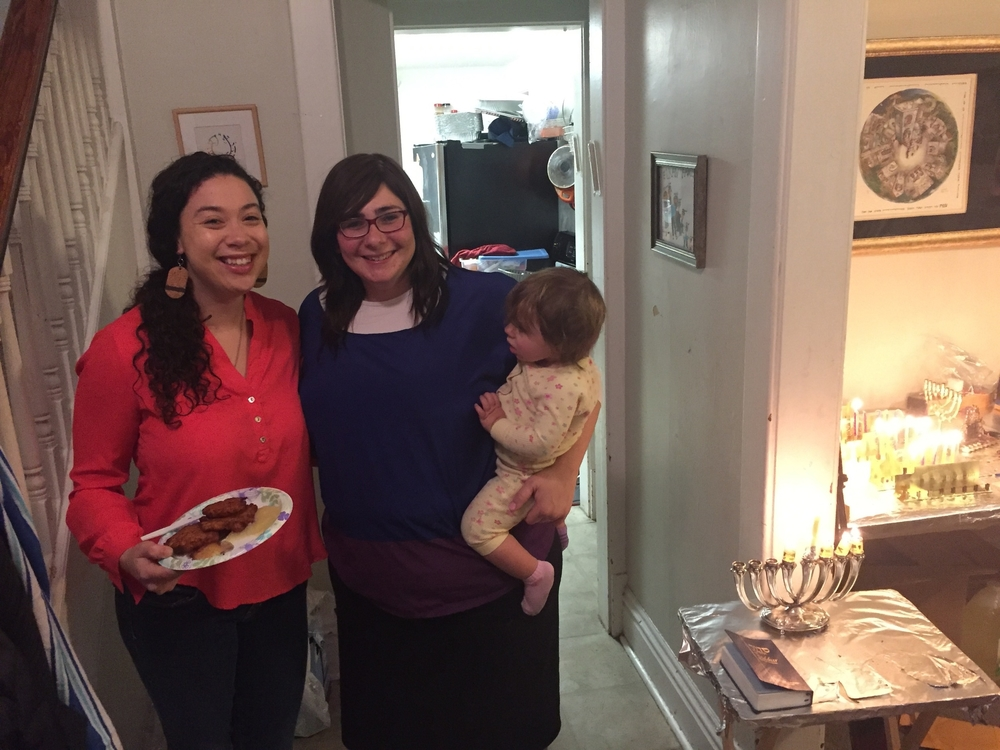 Happy Chanukah with Devorah and Sam Brown OC 13