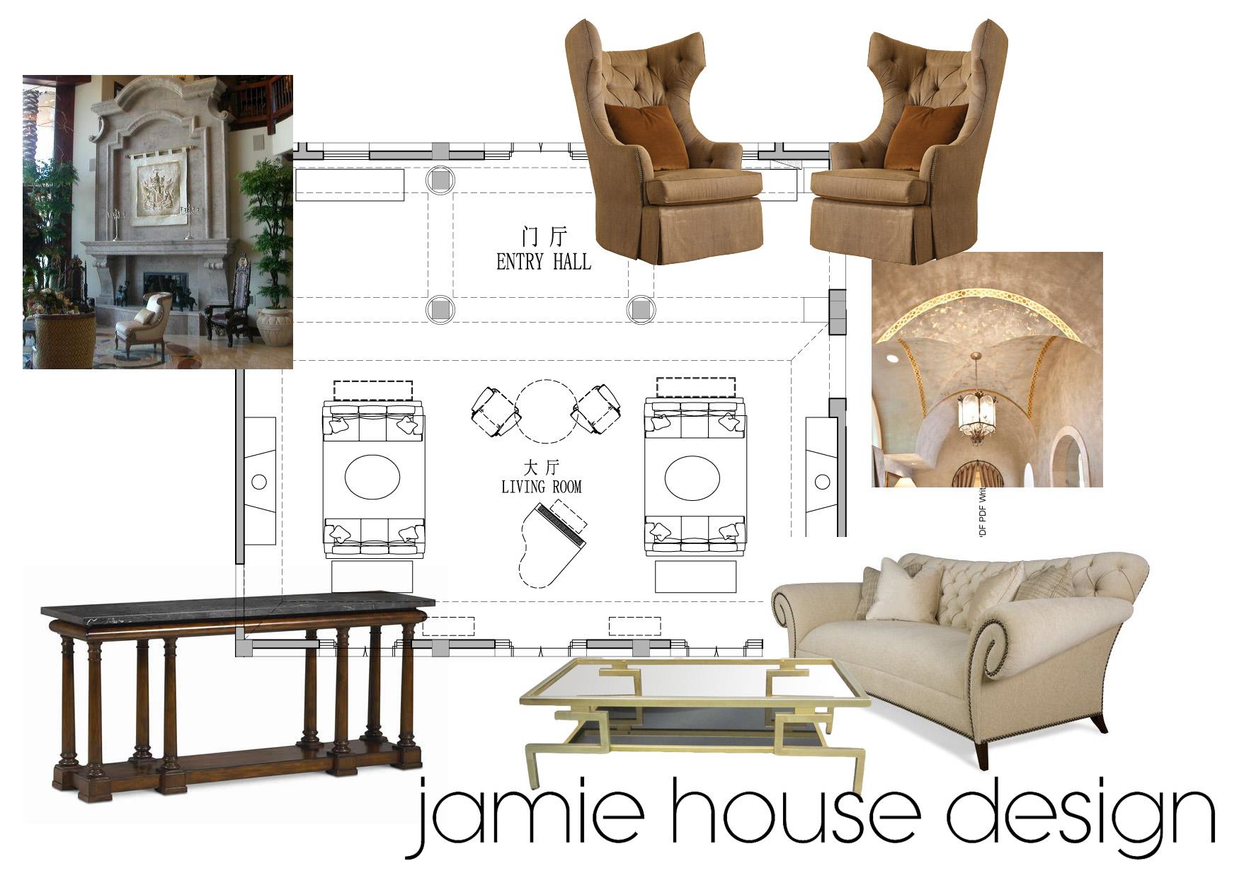 The interior design process part 2 jamie house design for Interior design process