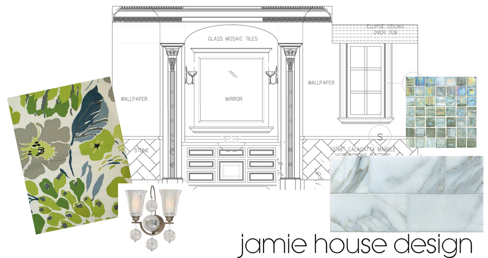 Jamie House Design Bathroom