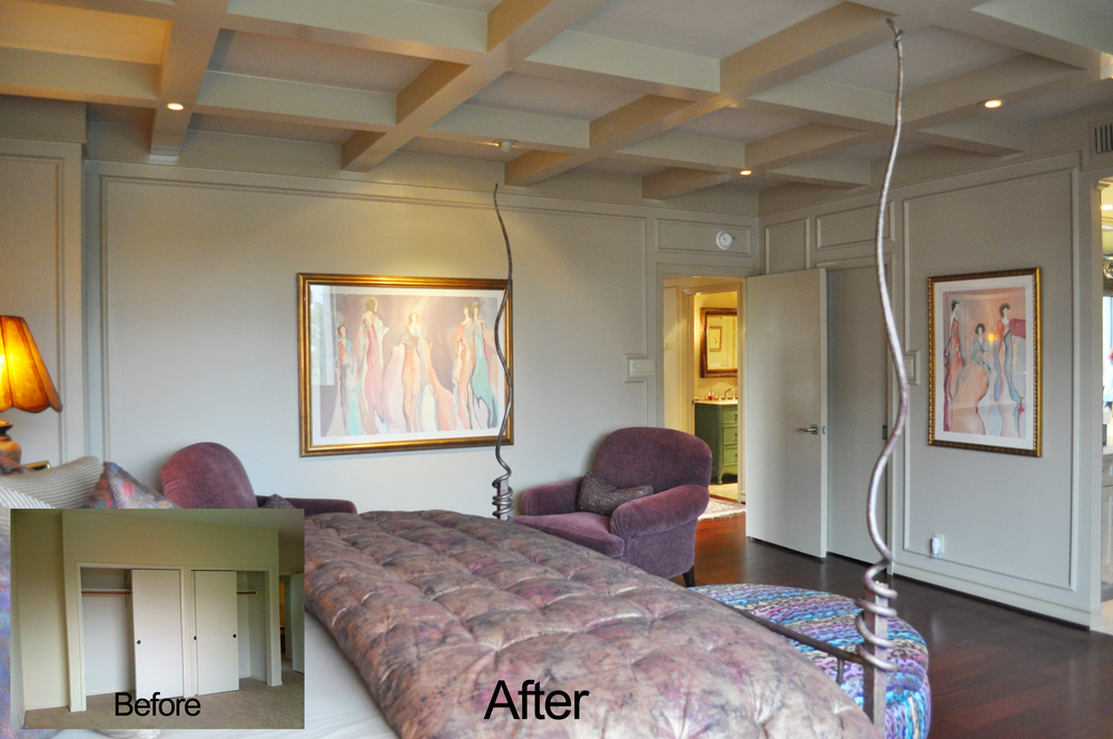 Jamie House Design Master Bedroom Remodel Before and After