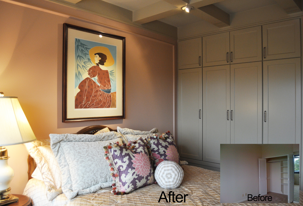 Jamie House Design Bedroom Remodel Before and After