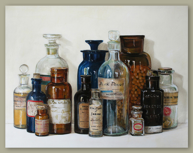 2012, Apothecary Bottles.jpg