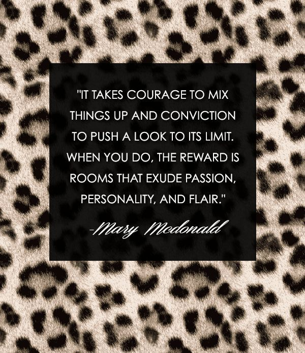 Mary McDonald Wisdom- Jamie House Design