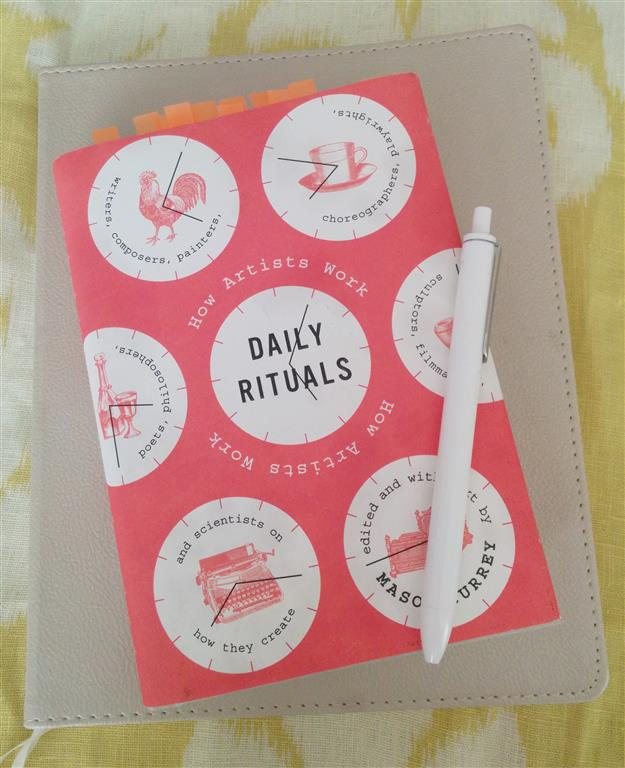 JHD- Daily Rituals: How Artists Work