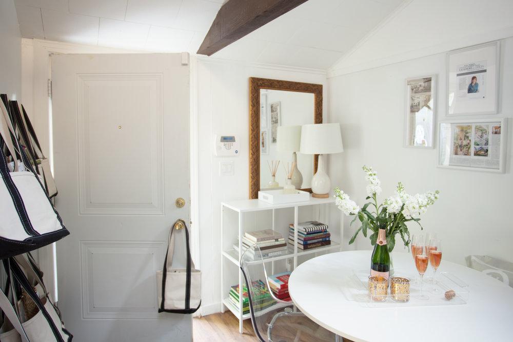 White Houston interior design studio of Jamie House Design