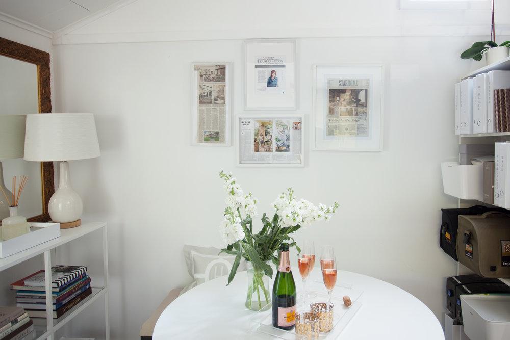 Montrose design studio of Jamie House Design. Interior design office.