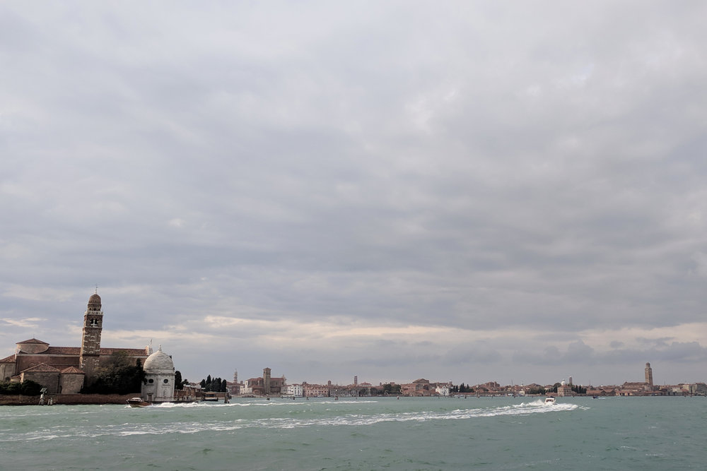Views of Venice Italy from the water. Travel blog by Jamie House Design, Berlin Interior Designer