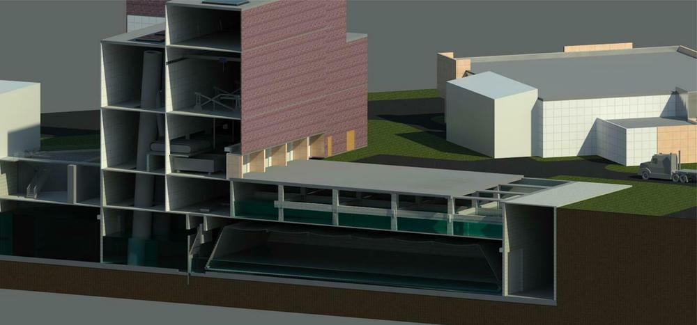3D parametric model created to support conceptual design