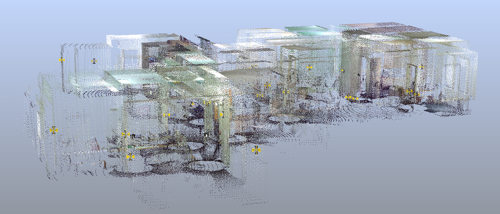 Scanned Point Cloud Data
