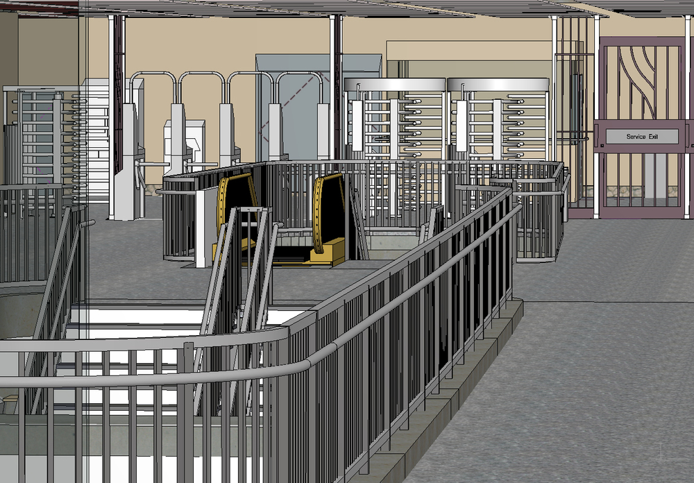 NYC MTA 72nd St Station