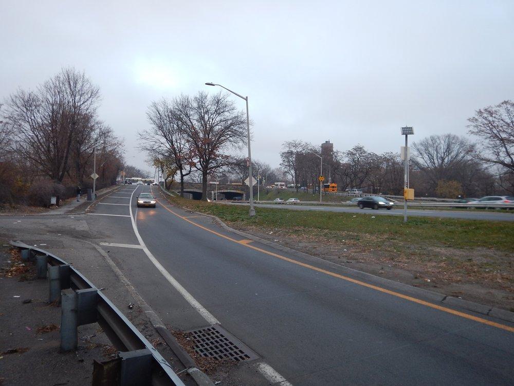 NYSDOT - Bronx River Parkway at Gun Hill Road