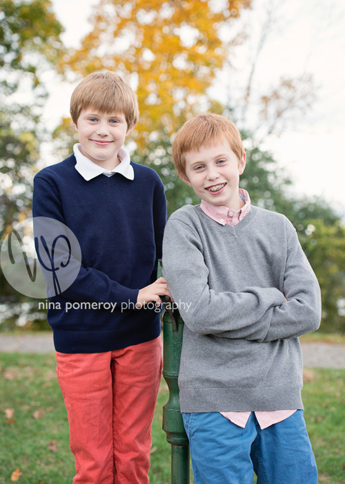 lifestyle portraits of brothers by ninapomeroy.com