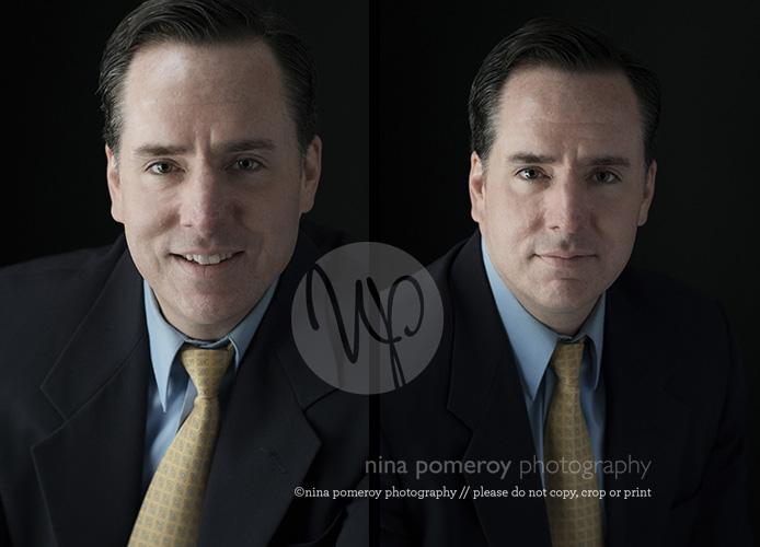 modern male headshot ninapomeroy.com