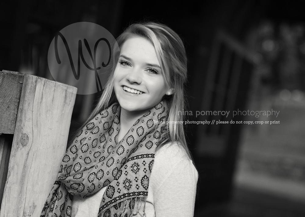teen senior HS graduation portraits danville ©ninapomeroy.com