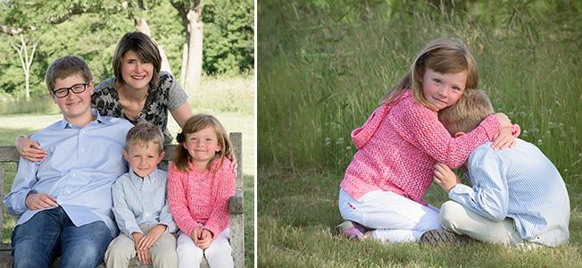 mother children hugs photographer connecticut ninapomeroy.com