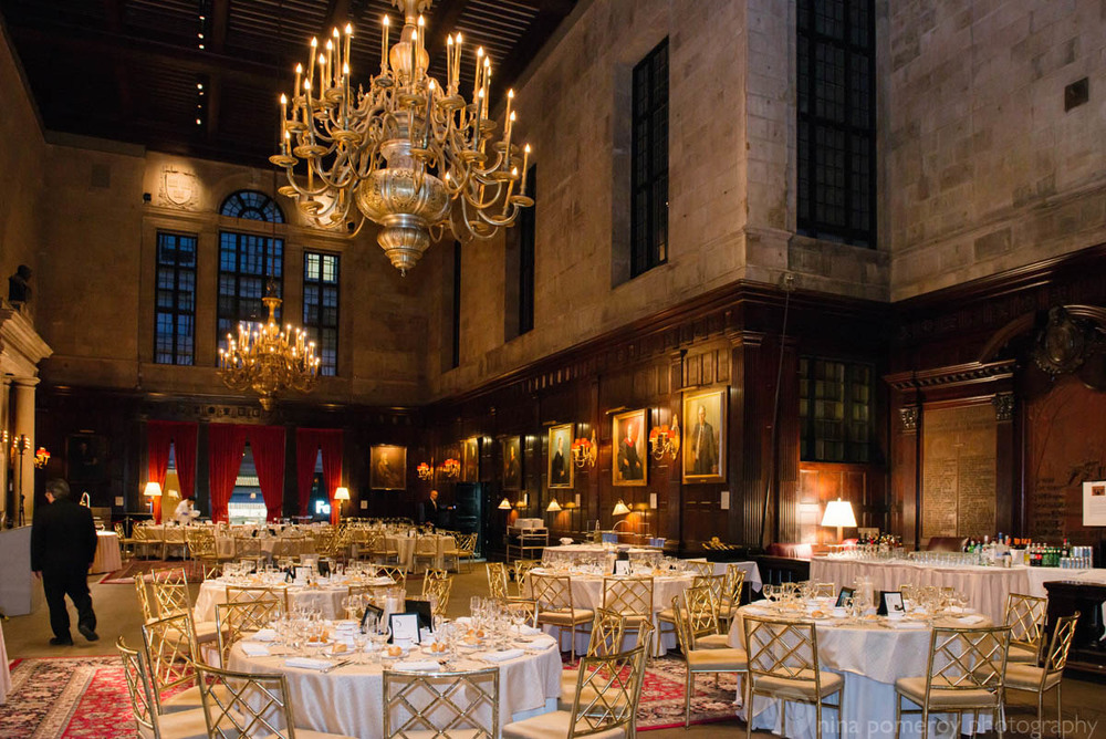 the beautiful NY Harvard Club