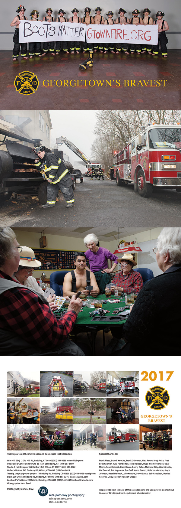 Georgetown Volunteer Fire Department Calendar - Connecticut