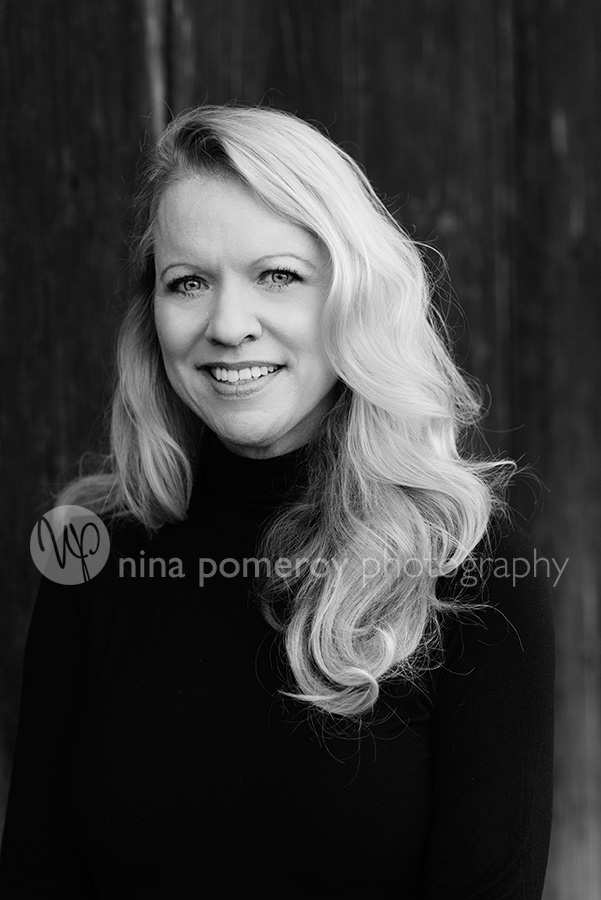 author headshot by bay area photographer nina pomeroy