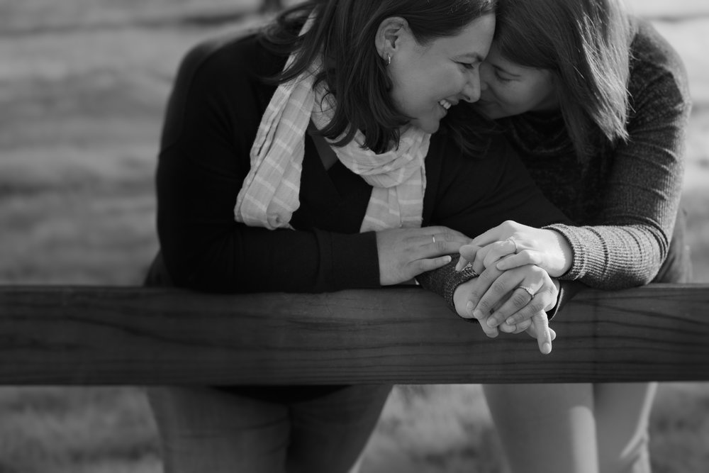 Walnut Creek Lesbian Gay Engagement Couple Portraits