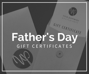 Fathers Day Gift Certificates for Photoshoots