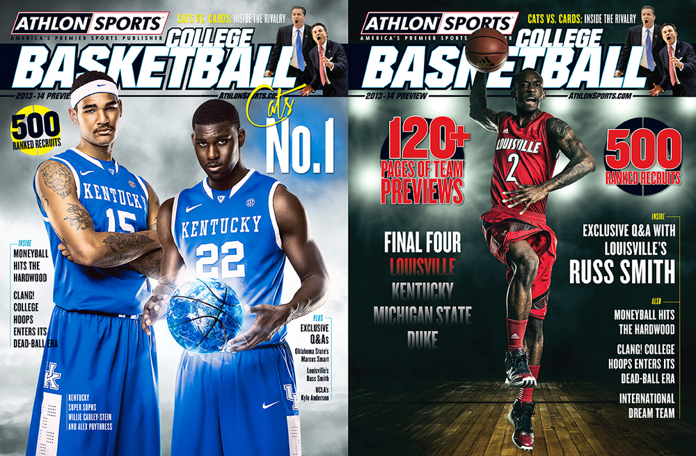 My 2013 Athlon Sports College Basketball Preview covers