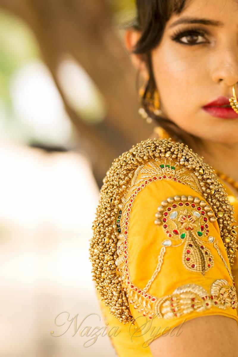 The Salangai blouse