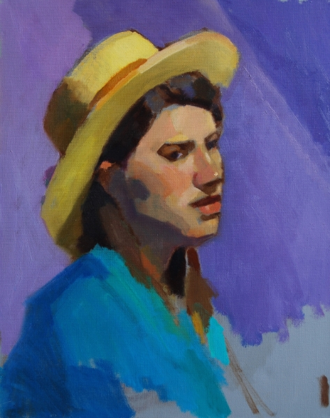 Yellow Hat (color study demo)