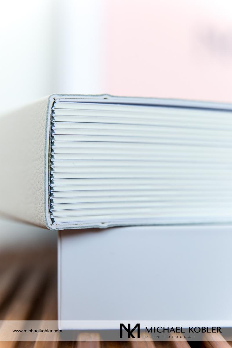 Die starken Seiten verleihen dem Fotobuch extra Volumen
