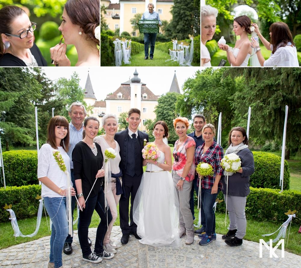 Das Team vom Märchenshooting @ Schloss Mühldorf