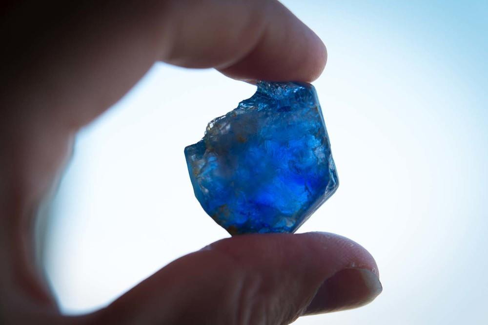 Rough 140 Carat Burmese Sapphire