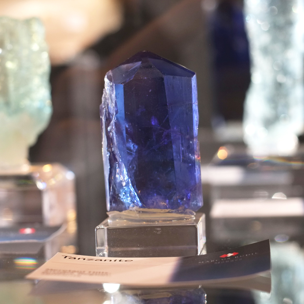 Seriously Beautiful Tanzanite Crystal