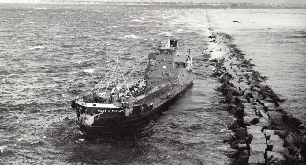 1968 Mary Whalen on Rockaway jetty.jpg
