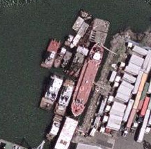 In 2004, Hughes Marine had 12 vessels tied up to the tanker.