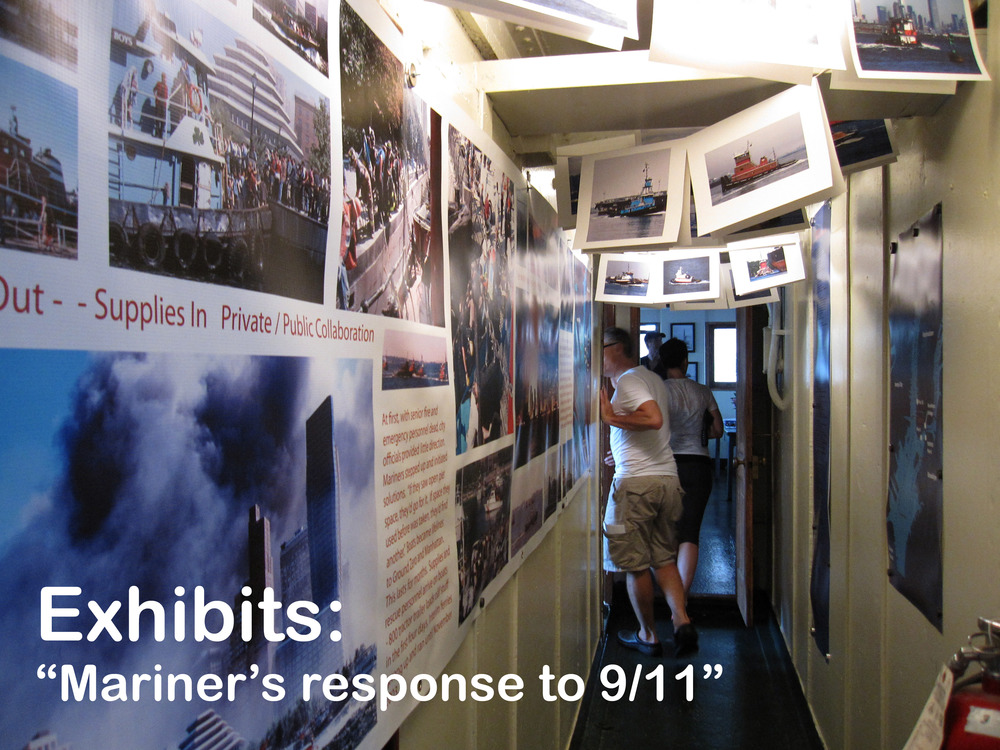 9-11 exhibit Evacuation hallw-caption.jpg