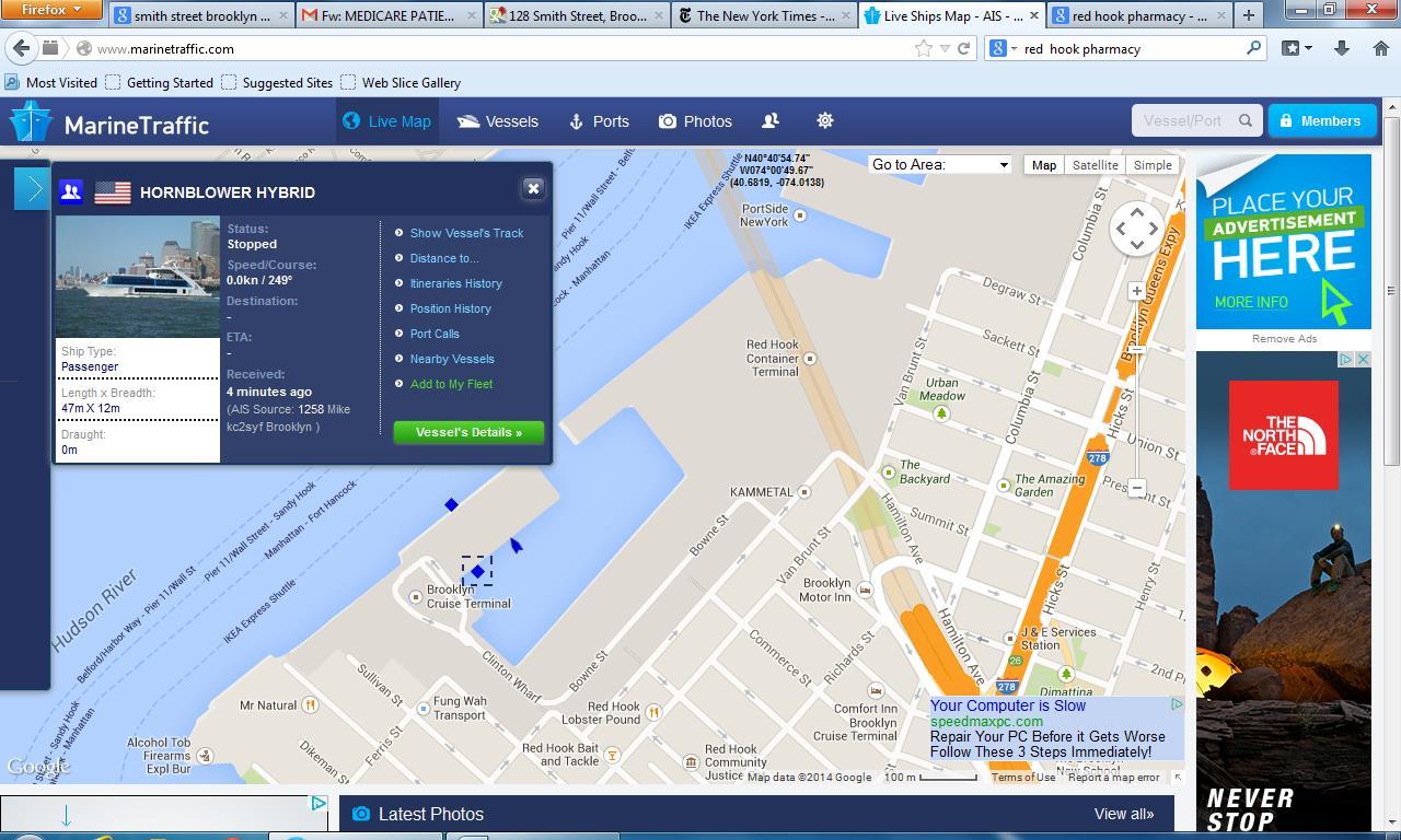 Blog Portside Newyork Boat Electrical Wiring Diagrams 404 Page Not Found Error Ever Marine Traffic Hornblower Hybrid