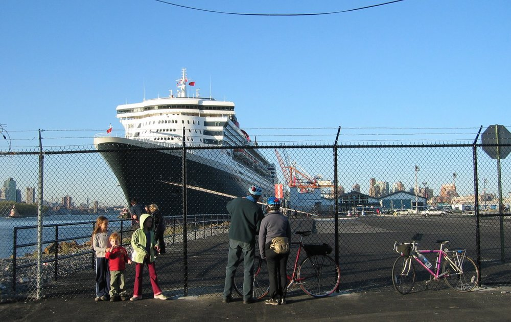 Brooklyn Cruise Terminal in Red Hook. Photo Courtesy of Adam Armstrong, A View From The Hook blog
