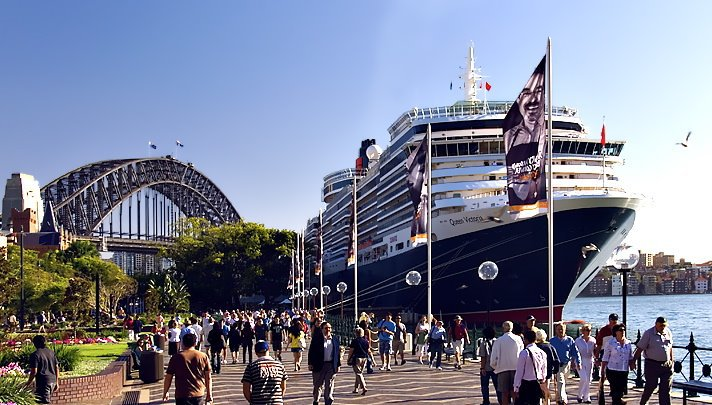 Sydney, Australai Cruise Terminal. Photo Courtesy of Adam Armstrong, A View From The Hook blog