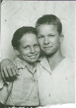 Brother Jack and I, Circa 1943.jpg