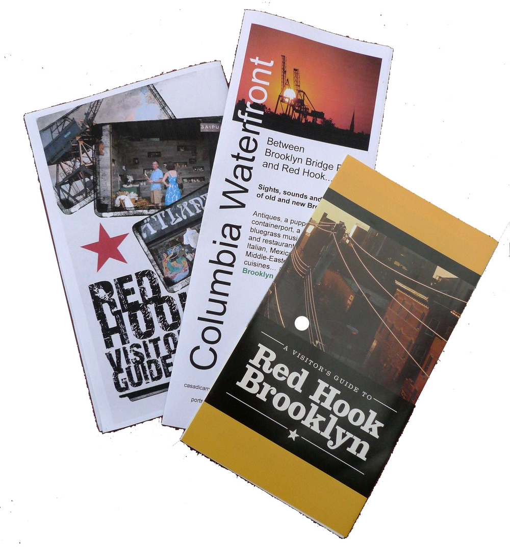 Guides to the area hook created by portside, singly or in partnership